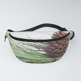 Pinecone and needles Fanny Pack