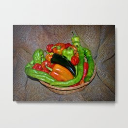 Spicy havest Metal Print