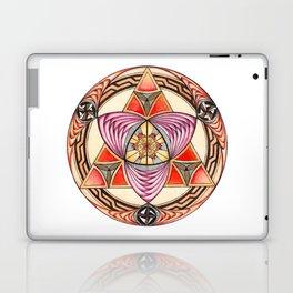Pyramid Mandala Laptop & iPad Skin