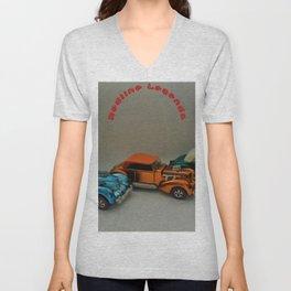 Vintage Hot Wheels Redline Custom Cord 'Redline Legends' Poster Unisex V-Neck