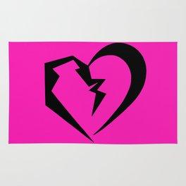 Hot Pink Heartbreak Rug