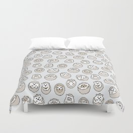 HEDGEHOG PATTERN BEIGE Duvet Cover