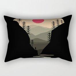 Exploring Earth Rectangular Pillow