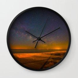 Oscoda Nights Wall Clock