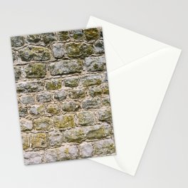 Mossy rock wall Stationery Cards