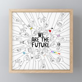 We Are The Future Tattoos Part 2 Framed Mini Art Print
