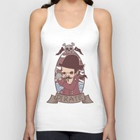 pirate Tank Tops featuring Pirate by Jelot Wisang