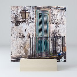 FORGOTTEN MEDIEVAL SOUND - film location of The Godfather Mini Art Print