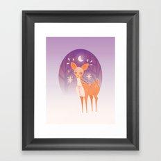 The Doe Framed Art Print