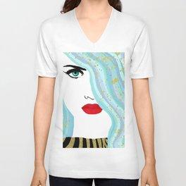 Francesca Has Mermaid Hair Unisex V-Neck