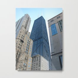 John Hancock Building-Chicago  Metal Print