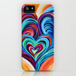 Intertwined Souls iPhone Case
