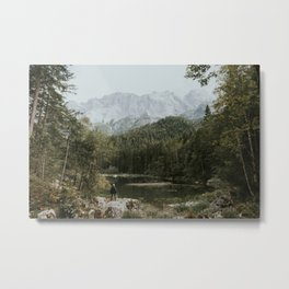 Mountain lake vibes II - Landscape Photography Metal Print