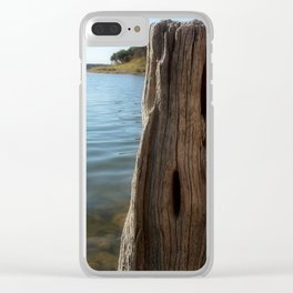 Water Logged Clear iPhone Case
