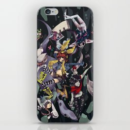Banda Pesadilla iPhone Skin