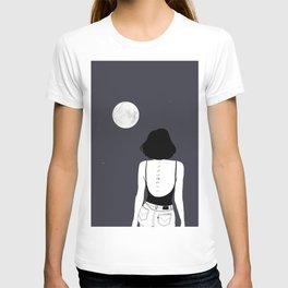 Am a moon like T-shirt