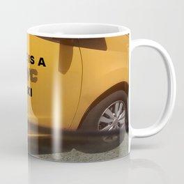 Life is a NYC Taxi Coffee Mug