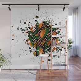 Australian Native Floral Graphic Print Wall Mural
