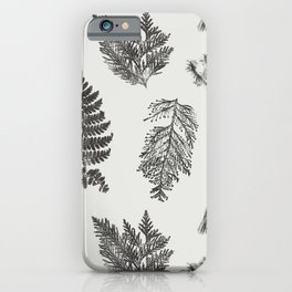 Hammond in Black and White iPhone Case