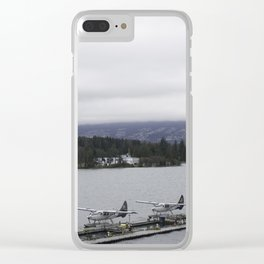Looking out towards Stanley Park Vancouver Clear iPhone Case