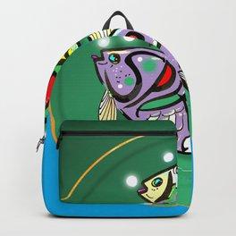 Spiritual Blue Backpack