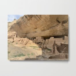 Mesa Verde National Park Longhouse Tour Metal Print