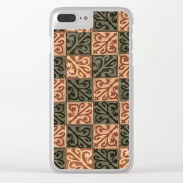 Salisbury Earth Carpet Clear iPhone Case