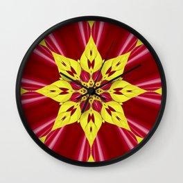 Berry Fractal Wall Clock