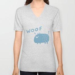 Woof Dog Unisex V-Neck