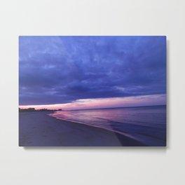Bayside sunset Metal Print