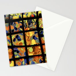 Trippy Window Stationery Cards
