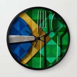 Copa & Cucina II Wall Clock