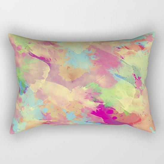 Abstract 40 Rectangular Pillow