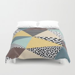 Abstract Geometry Duvet Cover
