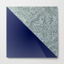 Oriental texture Metal Print