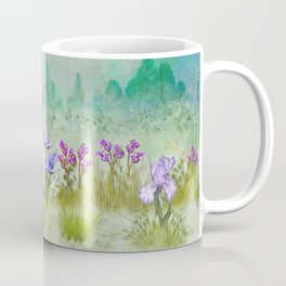 Summer Iris in a Mountain Meadow Coffee Mug