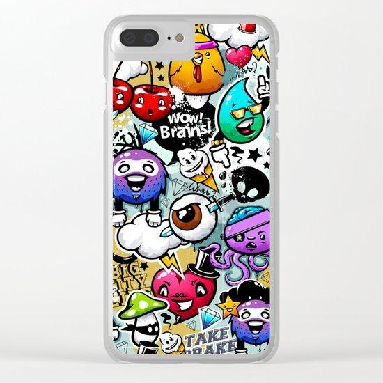 graffiti fun Clear iPhone Case