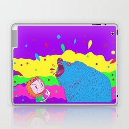 Flippin the bear Laptop & iPad Skin