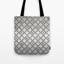 X Wing TIE Fighter Pattern Tote Bag