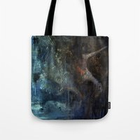 imagerybydianna Tote Bags featuring Liu's song by Imagery by dianna