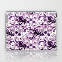 Swedish Candy Garden- Grape Laptop & iPad Skin