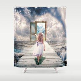 A Better world Shower Curtain
