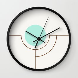 Balm 05 // ABSTRACT GEOMETRY MINIMALIST ILLUSTRATION by Wall Clock