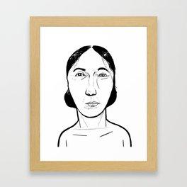 Eta Beta Framed Art Print