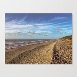 Granity Beach Canvas Print