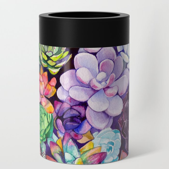 Succulent Garden Can Cooler