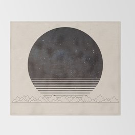 Spacescape Variant Throw Blanket