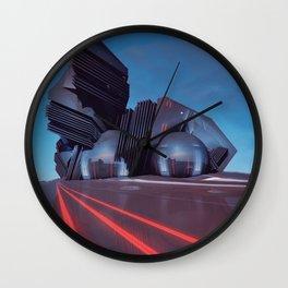 AREA REDCODE EGFXF25 Wall Clock