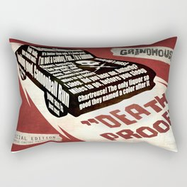 Deathproof redux Rectangular Pillow