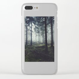 Through The Trees Clear iPhone Case